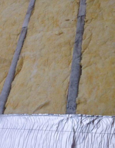 Isolation en laine de verre